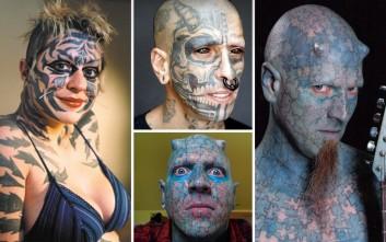 Οκτώ άνθρωποι που έχουν περάσει το τατουάζ... σε άλλο επίπεδο