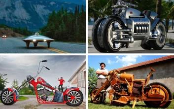 Μερικές από τις πιο εκκεντρικές μοτοσυκλέτες