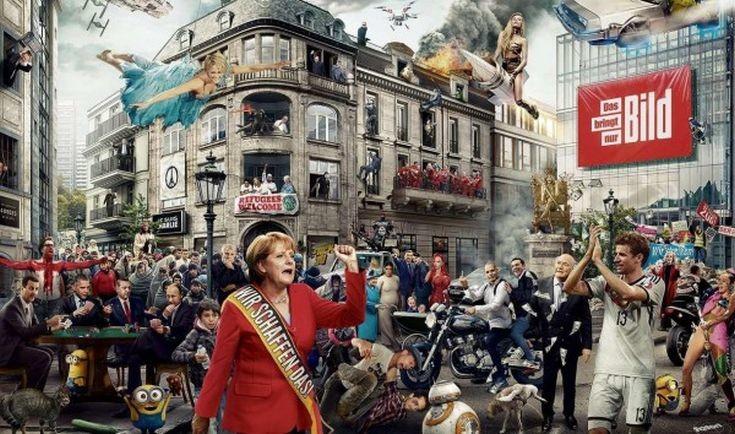 Τα γεγονότα της χρονιάς σε ένα εντυπωσιακό κολάζ της Bild