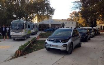 Η BMW i υποστηρίζει το λεωφορείο χωρίς οδηγό στα Τρίκαλα