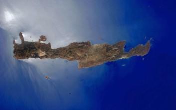 Αστροναύτης φωτογράφισε την Κρήτη από το διάστημα
