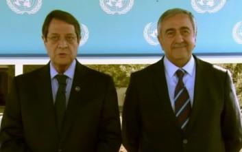 Το άνοιγμα νέων σημείων διέλευσης αποφάσισαν οι Ν. Αναστασιάδης και Μ. Ακιντζί