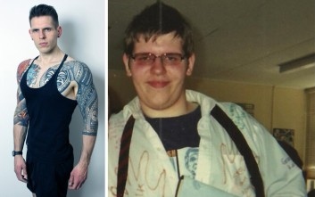 Ο 26χρονος που έχασε, ξαναπήρε και ξαναέχασε τριάντα ολόκληρα κιλά