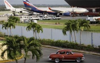 Αποκαθίσταται η τακτική αεροπορική σύνδεση ΗΠΑ-Κούβας