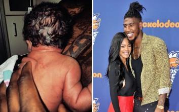 Αστέρας του NBA βοήθησε να γεννηθεί η κόρη του μέσα στο μπάνιο του σπιτιού του