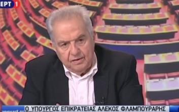 Ο Φλαμπουράρης εξηγεί γιατί κατέβηκαν τα tweets του Τσίπρα