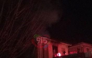 Έκρηξη και φωτιά σε σπίτι στην Τρίπολη