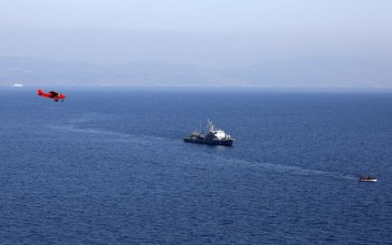 Σκάφος της Frontex διέσωσε 17 αλλοδαπούς ανοιχτά της Σάμου