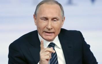 Ισχυρότερος άνδρας του πλανήτη ο Βλαντίμιρ Πούτιν