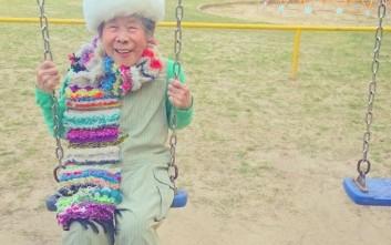 Μια 93χρονη ποζάρει με τα ρούχα της εγγονής της στο Instagram!