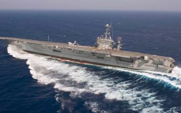 Αρνείται το Ιράν ότι έριξε ρουκέτες κοντά σε πλοία των ΗΠΑ
