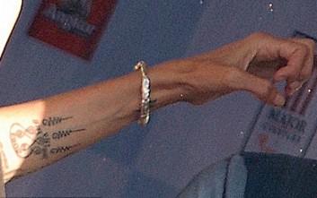Το νέο τατουάζ που «χτύπησε» η Αντζελίνα Τζολί