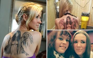 Έκανε τατουάζ με τη στάχτη της νεκρής αδελφής της