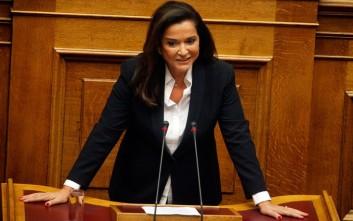 Μπακογιάννη: Δεν θα επιτρέψουμε παιχνίδια σε θέματα του Συντάγματος