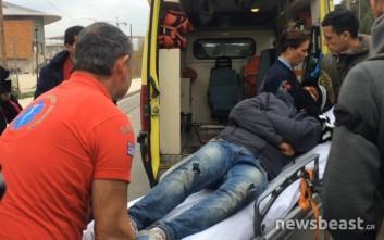 Ασθενοφόρο παρέλαβε ασθενή μετανάστη από το Τάε Κβον Ντο