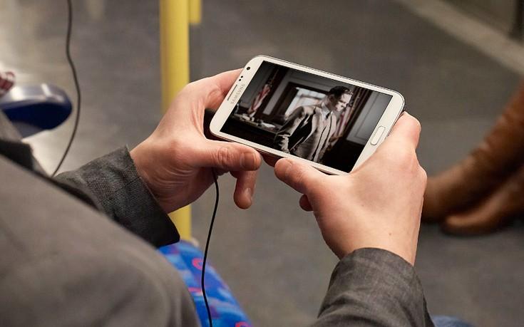 Αύξηση πάνω από 70% στην παρακολούθηση βίντεο μέσω smartphone
