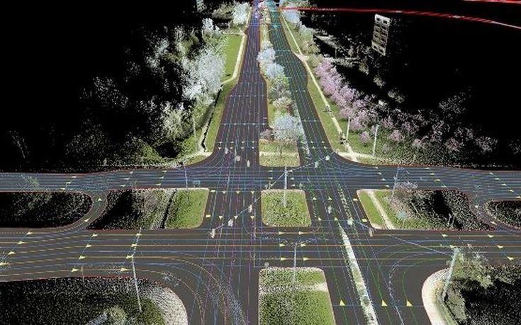 Αυτοκίνηση με ψηφιακούς χάρτες