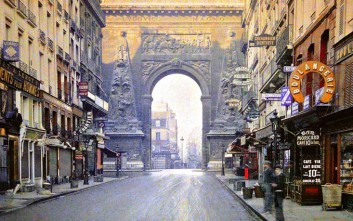 Σπάνιες έγχρωμες φωτογραφίες του Παρισιού το 1914