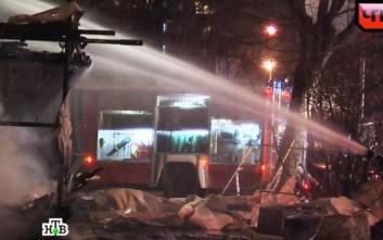 Τραγωδία από πυρκαγιά σε εμπορικό κέντρο στη Σιβηρία