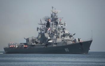Σύγκρουση ρωσικού πολεμικού με φορτηγό πλοίο στο Αιγαίο