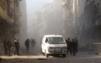 Τέσσερις έφηβοι βομβιστές αυτοκτονίας ανατινάχθηκαν στη Ράκα