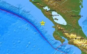 Σεισμός 5,7 Ρίχτερ ανοιχτά της Νικαράγουα