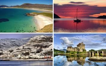Η σπάνια ομορφιά της Σκωτίας τις τέσσερις εποχές