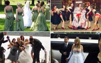 Συλλογή από τις πιο περίεργες καταστάσεις σε γάμους
