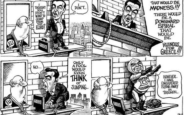 Οι υποσχέσεις του Τσίπρα σε ένα καυστικό σκίτσο του Economist