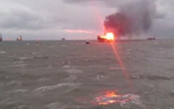 Δεκάδες νεκροί από πυρκαγιά σε εξέδρα εξόρυξης πετρελαίου στην Κασπία