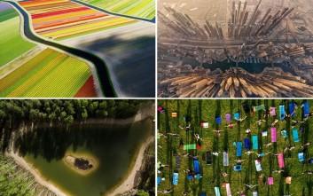 Στιγμές του κόσμου μας φωτογραφημένες από drone