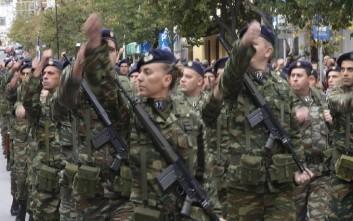 Γιορτάζουν οι Ένοπλες Δυνάμεις της χώρας
