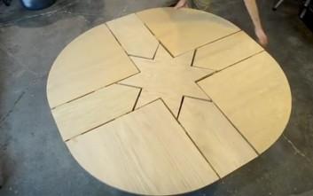 Το τραπέζι που αλλάζει ανά πάσα στιγμή σχήμα