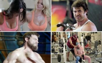 Η ζωή στο γυμναστήριο είναι σαν... ντοκιμαντέρ άγριας φύσης