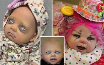 Οι τρομακτικές κούκλες που κοστίζουν μέχρι και 1.200 λίρες