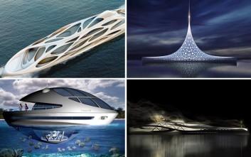 Φουτουριστικά σούπερ-γιοτ που θα κοσμούν τις θάλασσες στο μέλλον