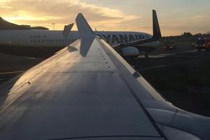 Σύγκρουση αεροπλάνων στο αεροδρόμιο του Δουβλίνου