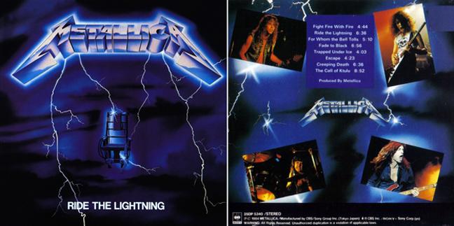 Metallica - Ride the lightning Metallica2