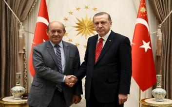 Στην Τουρκία ο Γάλλος υπουργός Άμυνας