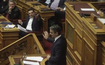 Άμεση απόσυρση του Ασφαλιστικού ζητά ο Μητσοτάκης