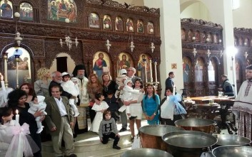 Με έξοδα της Αρχιεπισκοπής Κύπρου βαπτίστηκαν 15 παιδιά