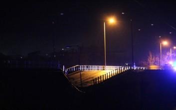 Κατέρρευσε γέφυρα στα Τρίκαλα από την κακοκαιρία