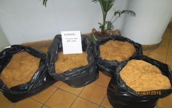 Κατασχέθηκαν 71 κιλά λαθραίου καπνού