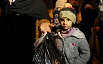 «Έγκλημα πολέμου η λιμοκτονία των Σύρων»