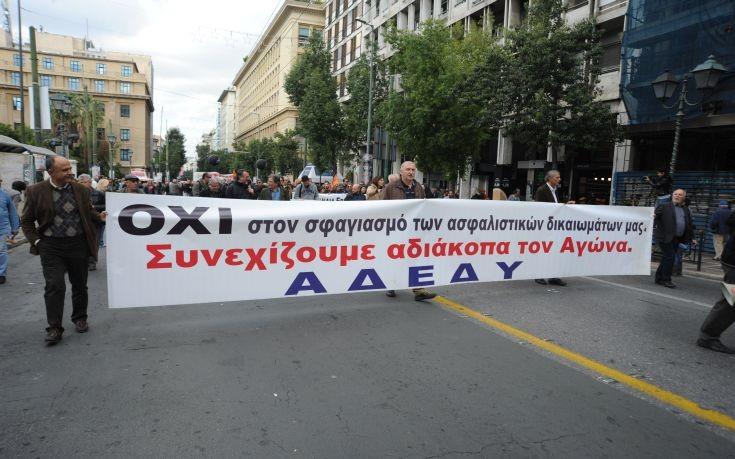 Στην απεργία της ΓΣΕΕ στις 9 Μαρτίου θα συμμετάσχει η ΑΔΕΔΥ