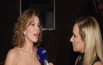 Ηλιάκη για Μανωλίδου: Είναι θλιβερό το θέαμα, όλοι κοιτάνε το στήθος της