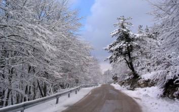 Χιόνια αύριο στη Μακεδονία, τη Θράκη και τη Θεσσαλία