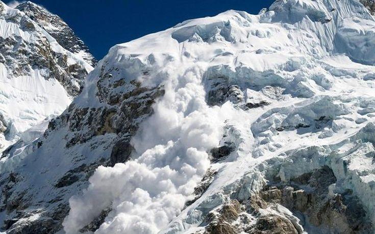 Προειδοποίηση για τον κίνδυνο χιονοστιβάδων σε ελληνικά βουνά