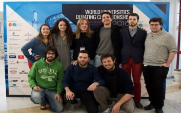 Χρυσοί Έλληνες φοιτητές σε διαγωνισμό debate