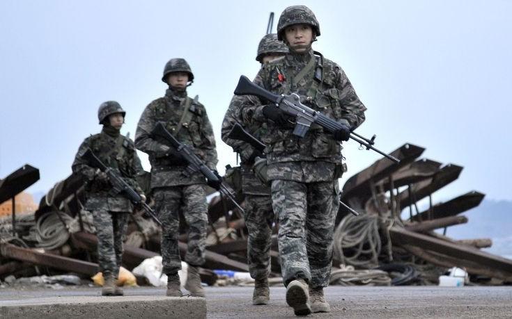 Άσκηση της Νότιας Κορέας με συμμετοχή αμερικανικού βομβαρδιστικού
